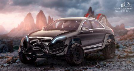 Mercedes-Benz S-Class Brabus render (5)