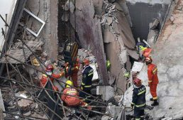 Seven killed as Mercedes-Benz dealership collapses in Shanghai