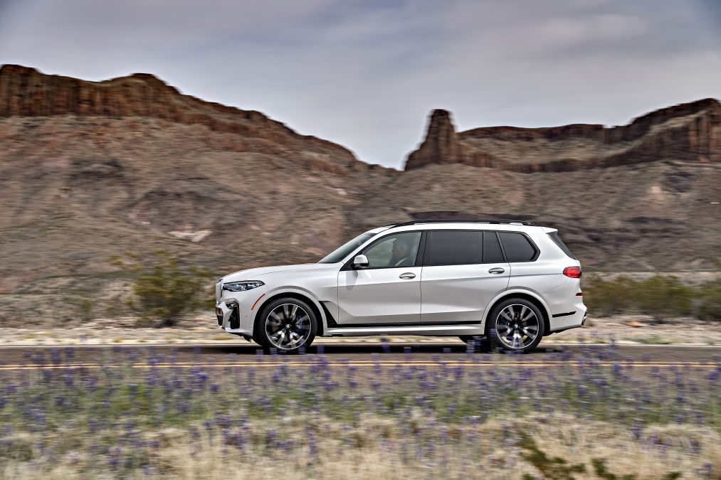 Mercedes GLS vs BMW X7