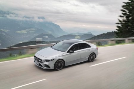 New Mercedes-Benz A-Class Sedan at Rastatt (1)