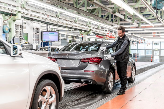 Five million compact cars built at the Rastatt plant. The A-Class Sedan joins the party!