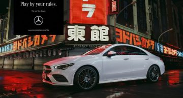 """Play by your rules"" – This is the video promoting the new Mercedes-Benz CLA"