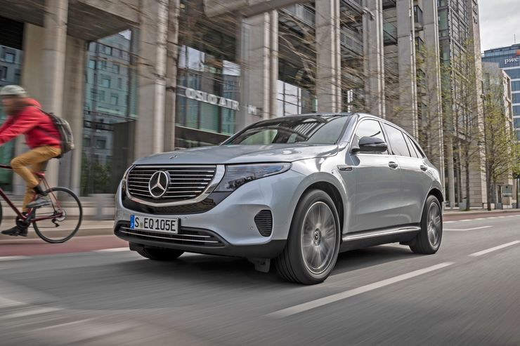 Mercedes-Benz delays the arrival of the EQC in the US