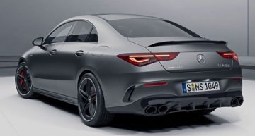 Mercedes-AMG CLA 45 revealed in online configurator
