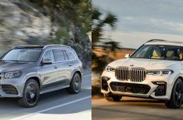 The XXL luxury SUV: the new Mercedes GLS vs BMW X7