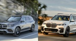 The XXL luxury SUV: the new Mercedes GLS vs BMW X7