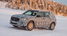 First test Mercedes GLB: Prototype passenger ride preview