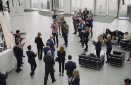 BMW waves Mercedes' chief Dieter Zetsche good-bye in funny, clever way (video)