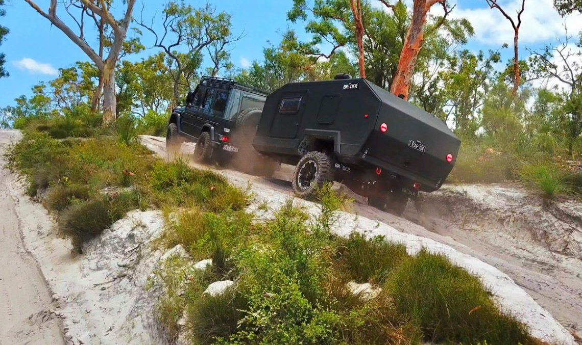 The caravan G-Class boldly goes where no trailer has gone before
