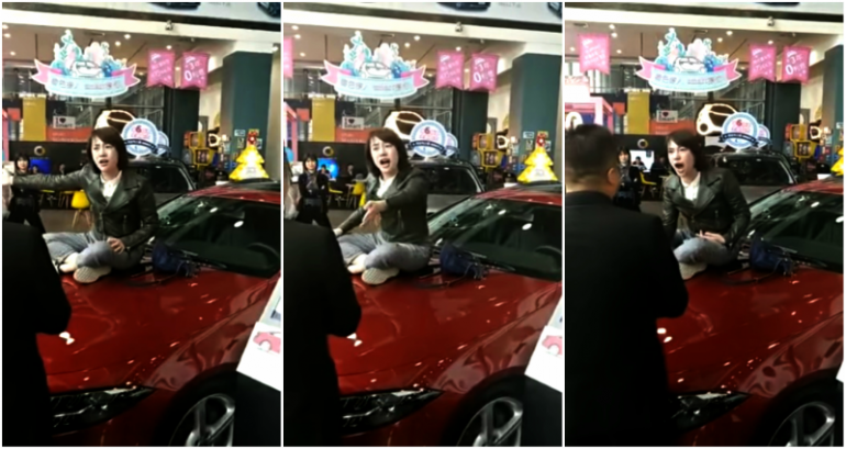 What happens to the Chinese dealership after customer complaint went viral?