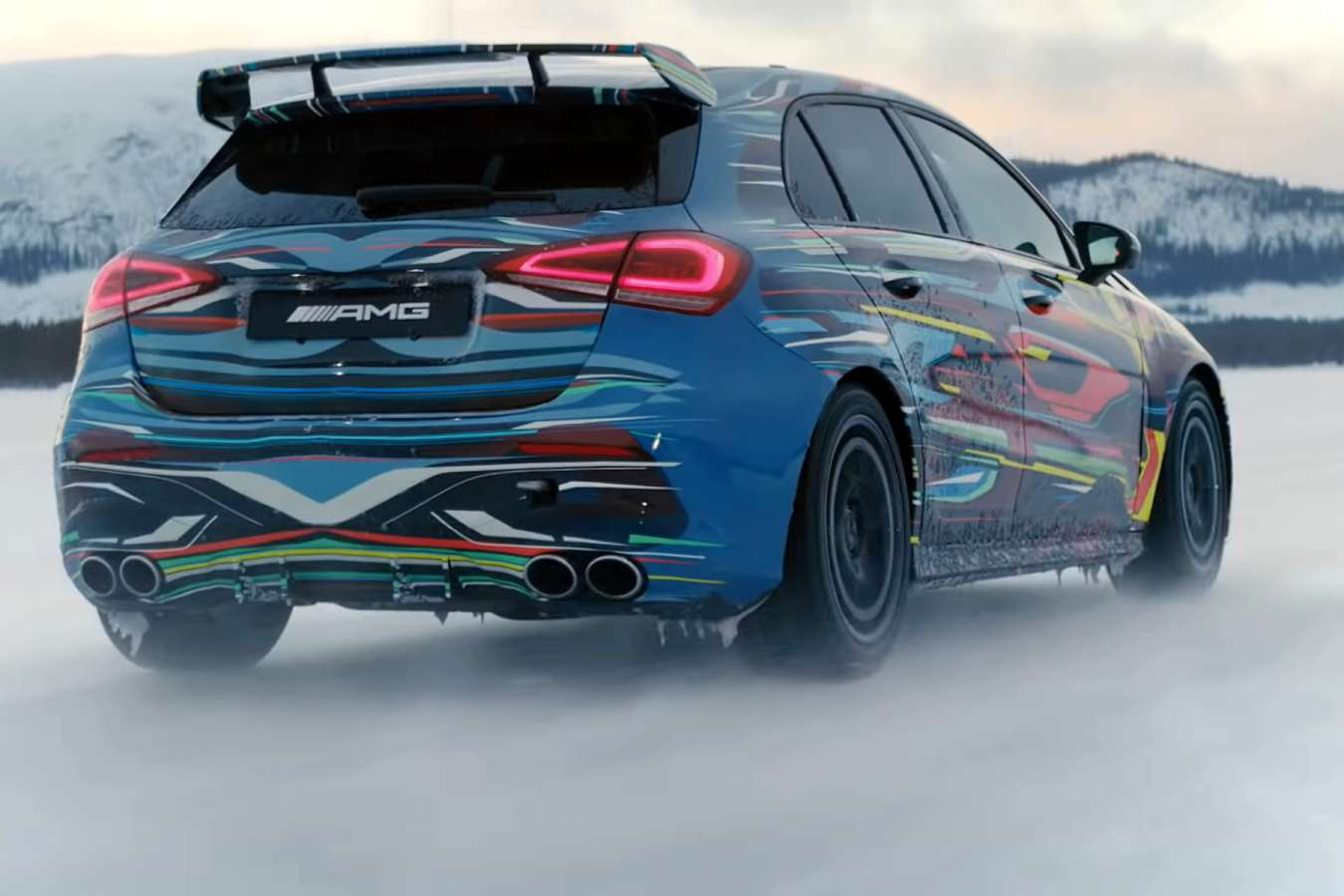 all new 2019 mercedes amg a 45 its final power output is. Black Bedroom Furniture Sets. Home Design Ideas