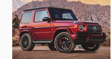What would say about a Mercedes-AMG G 63 in three-door guise?