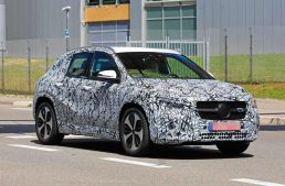 New Mercedes-Benz GLA: Latest spy pictures reveal SUV character