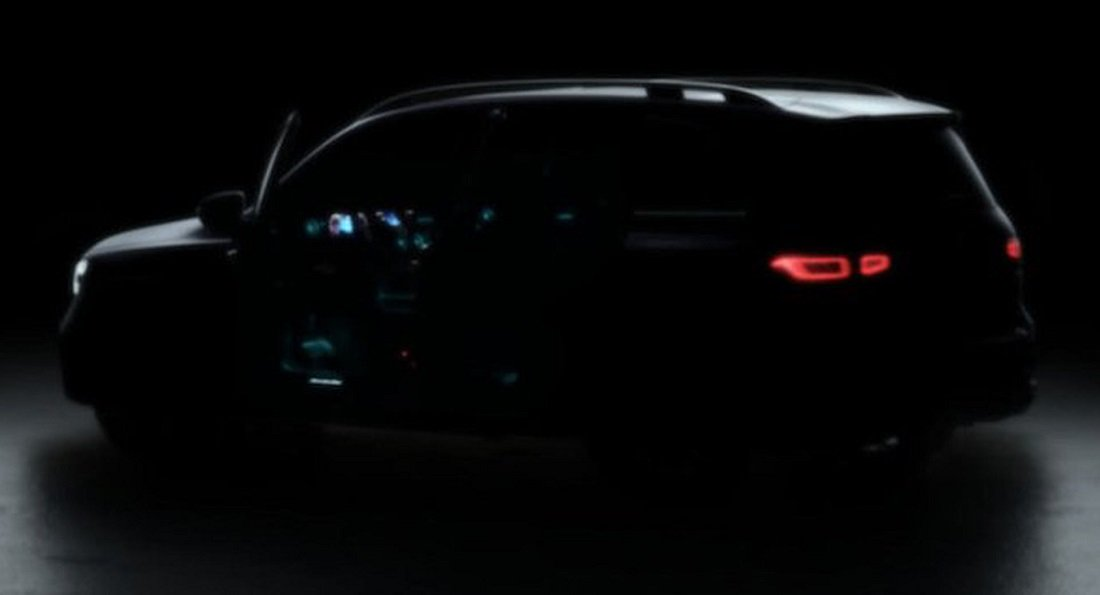 Mercedes-Benz GLB first teaser. When will it arrive in showrooms?