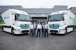 This is the conuntry that has just received two Mercedes-Benz eActros electric trucks