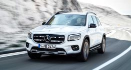 The Mercedes-Benz EQB electric SUV will be launched in 2021