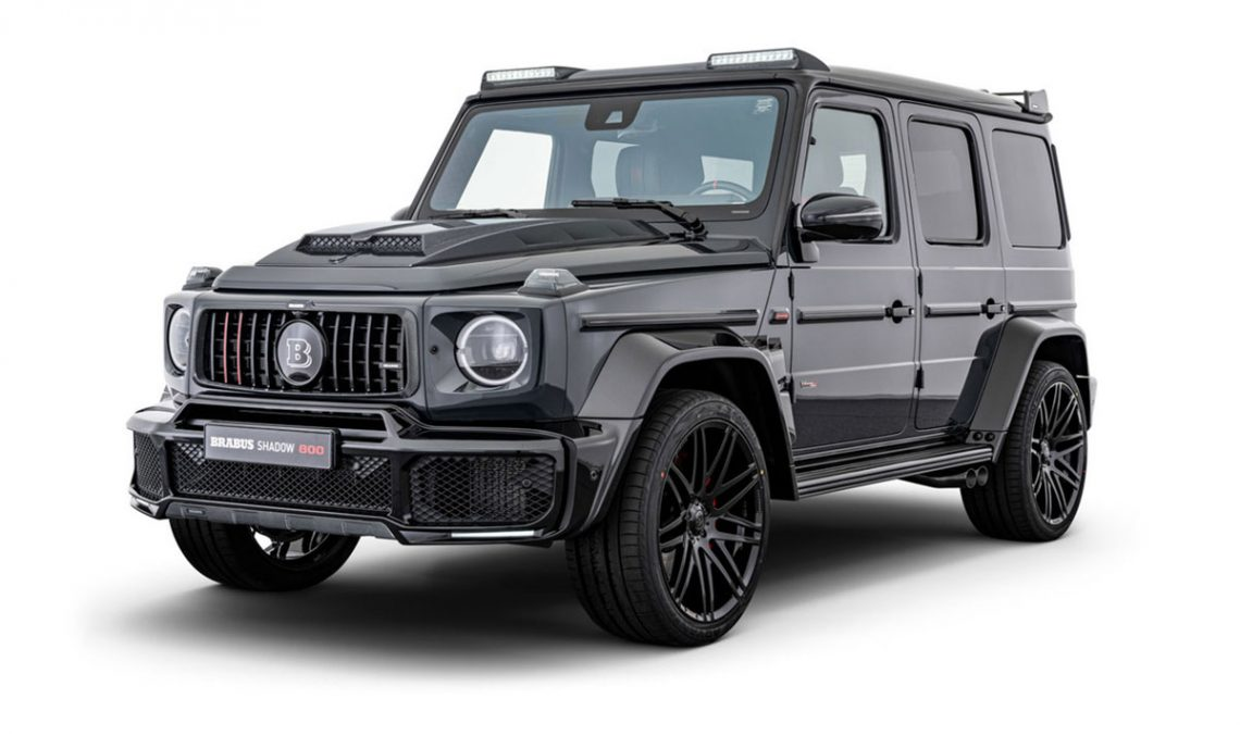 The Mercedes-AMG G 63 develops 800 hp thanks to the Brabus magic
