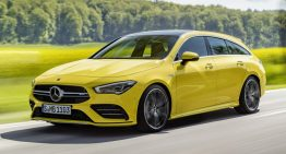 Mercedes-AMG CLA 35 Shooting Brake: Family CLA gets the sporty AMG treatment