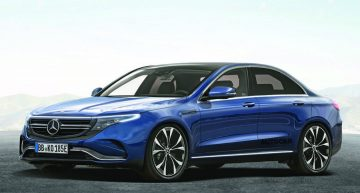 Mercedes-Benz EQE: Electric E-Class comes in 2022 with 600 km range