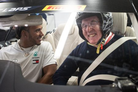 Lewis Hamilton Sir Frank Williams (3)