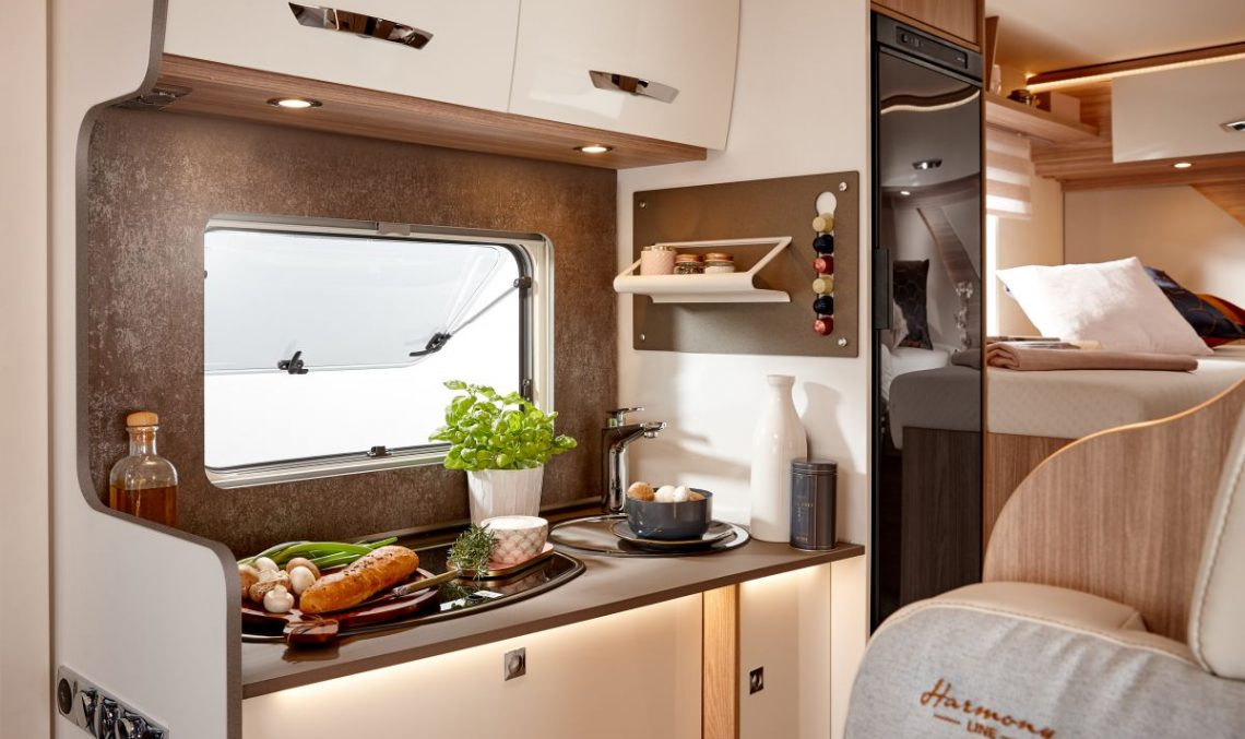 Mercedes Sprinter morphs into the Bürstner Lyseo M family camper van