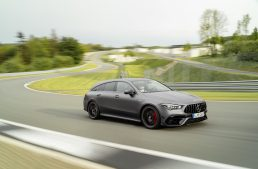 First videos showing the mighty new Mercedes-AMG CLA 45 Shooting Brake are here