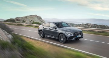 First official video of the Mercedes-AMG GLC 43 4Matic Coupe is here