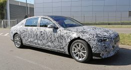 All-new Mercedes-Maybach S-Class caught in pre-production guise