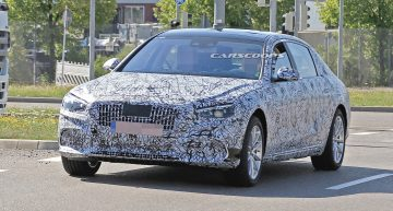 First video: Next generation Mercedes-Benz S-Class, spied during tests