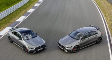 The most expensive compact cars? Mercedes-AMG A 45 and CLA 45 prices released
