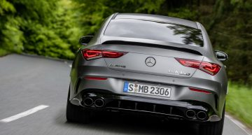 Mercedes-AMG exhaust, too noisy according to E.U. regulations
