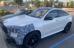 All-new Mercedes-AMG GLE 63 Coupe loses camouflage, gets up to 612 hp
