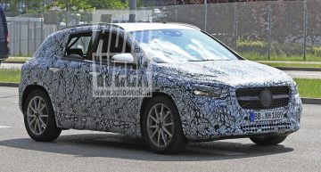 New spy pics show how sexy the new Mercedes GLA is – first look inside