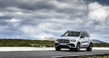 Test drive Mercedes-Benz GLE 450 4Matic