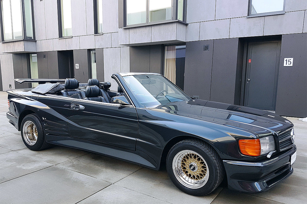 A Mercedes-Benz 560 SEC Koenig is for sale  How much do you