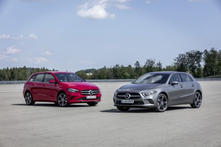 Mercedes-Benz A-Class and B-Class plug-in hybrid (22)