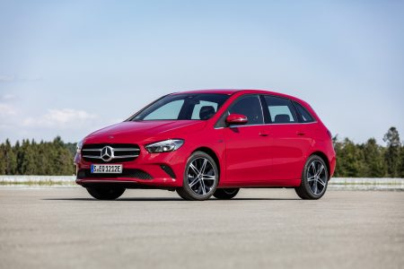 Mercedes-Benz A-Class and B-Class plug-in hybrid (3)