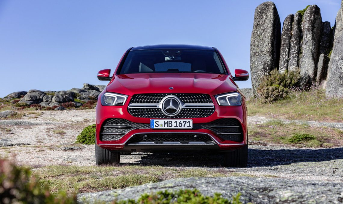 The new Mercedes-Benz GLE Coupe – Official data and photos