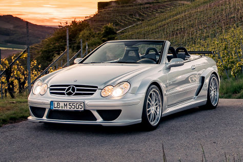 Very rare Mercedes CLK DTM AMG Cabrio for sale at a price of 324,900 euro