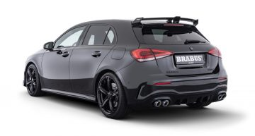 Brabus takes the Mercedes-AMG A 35 hot hatch to 365 hp