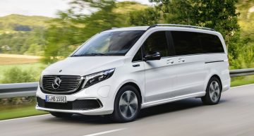 This is the Mercedes-Benz EQV fully electric van: First official pics and info