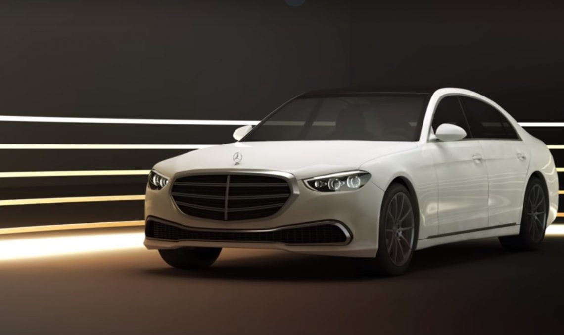is this the 2020 mercedes-benz s-class  digital renders seem so real