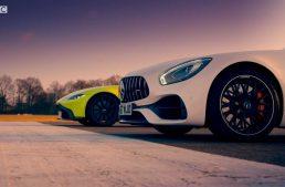 Mercedes-AMG GT S vs Aston Martin V8 Vantage in Top Gear clash