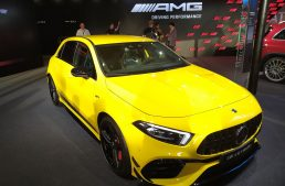 LIVE IAA 2019 – New Mercedes-AMG A 45 redefines high-performance compact segment