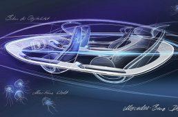 Mercedes-Benz EQS concept interior revealed ahead of Frankfurt debut