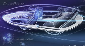 Mercedes-Benz EQS concept interior revealed ahead of Frankfurt debut