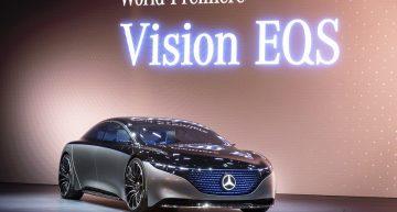 LIVE IAA 2019 – Mercedes-Benz Vision EQS concept