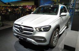 LIVE IAA 2019: Mercedes-Benz GLE 350 de and GLC 300 e plug-in hybrid SUVs revealed
