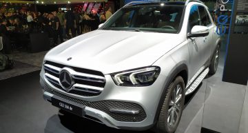 LIVE IAA 2019: Mercedes-Benz GLE 350 de and GLC 300 e plug-in hybrid SUVs revealed