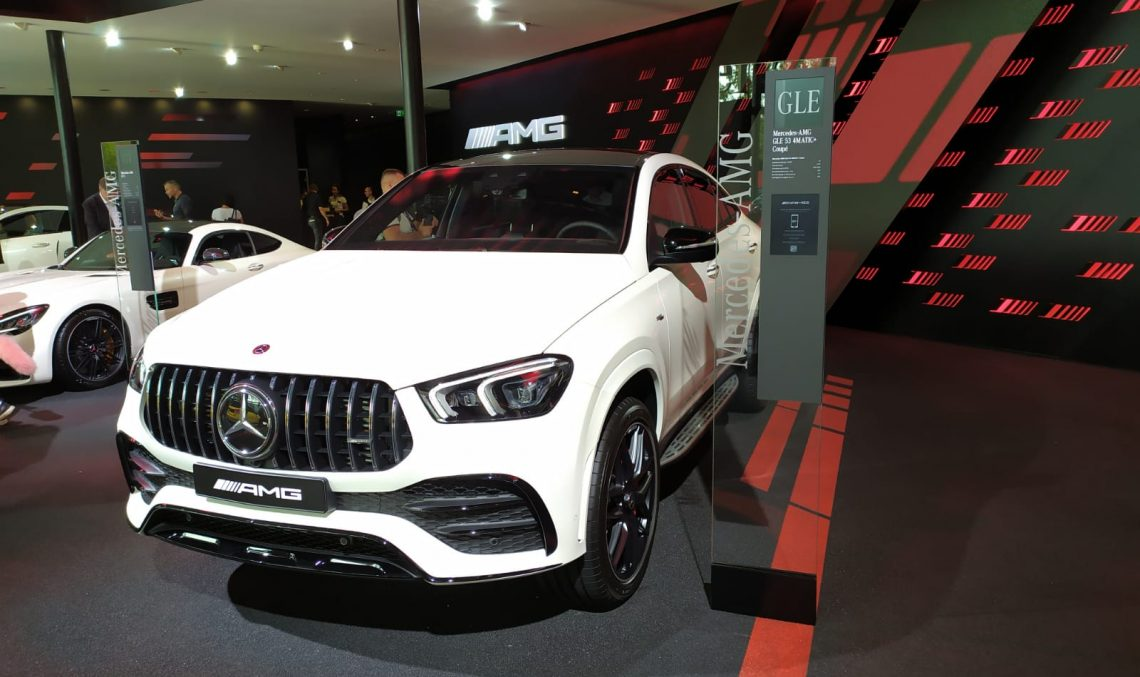 LIVE IAA 2019: Mercedes-AMG GLE 53 Coupe 4Matic takes the SUV coupe segment by storm